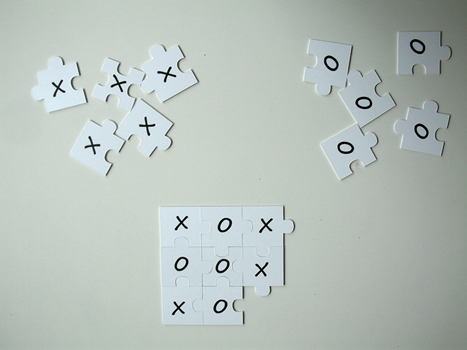 Puzzled Tic-tac-toe